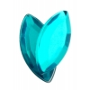 Acrylic 15x7mm Navette Turquoise